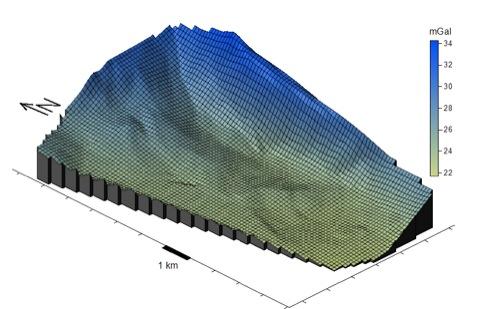 Gravimetrie Rheintalgraben tiefe Geothermie