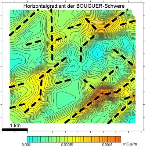 tiefe Geothermie Oberrheintalgraben gravimetrie und Tektonik